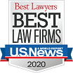 US News Best Law firms 2019 logo